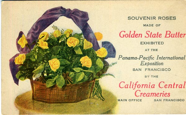 Golden Gate Butter Post Card