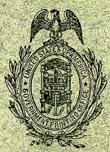 Government Print Office Seal